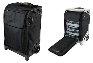 The ZÜCA Flyer : New Carry-On Suitcase Designed for Frequent Flyers